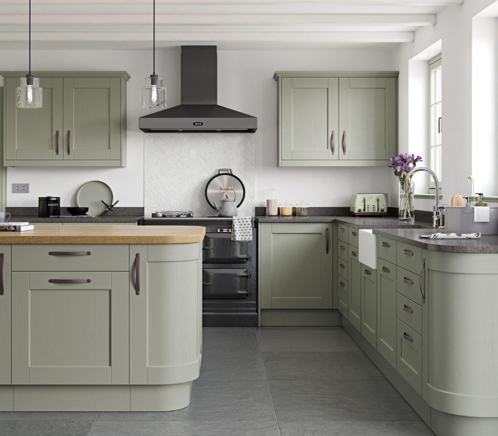 kensington kitchen in sage green - Sage Kitchen